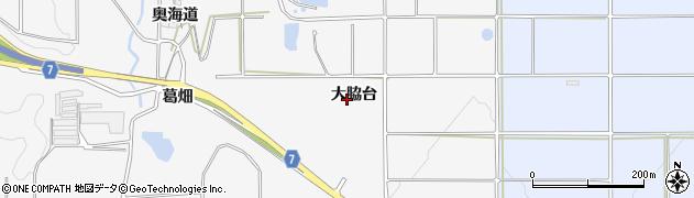 愛知県南知多町(知多郡)豊丘(大脇台)周辺の地図
