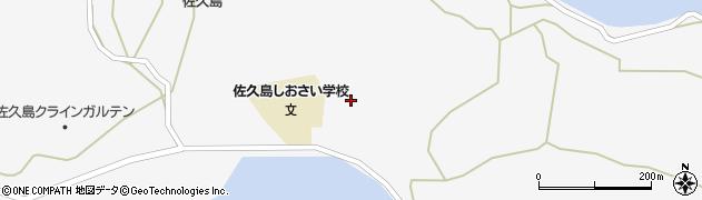 愛知県西尾市一色町佐久島(掛梨)周辺の地図