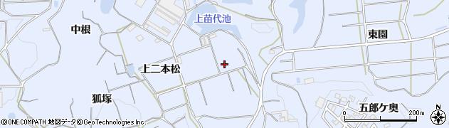 愛知県南知多町(知多郡)大井(下二本松)周辺の地図