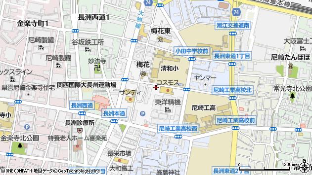 〒660-0803 兵庫県尼崎市長洲本通の地図