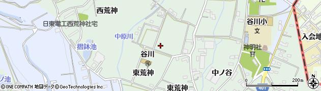 愛知県豊橋市中原町(荒神)周辺の地図