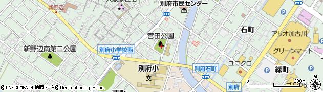 兵庫県加古川市別府町(宮田町)周辺の地図