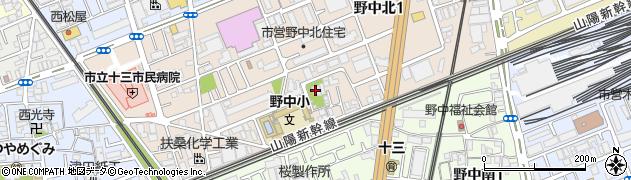 専龍寺周辺の地図