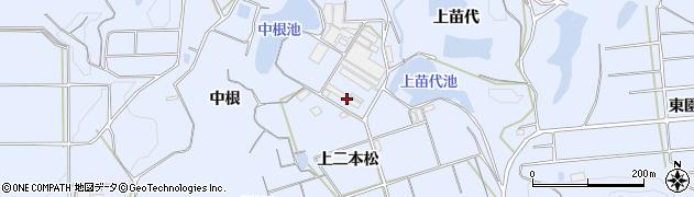 愛知県南知多町(知多郡)大井(上二本松)周辺の地図