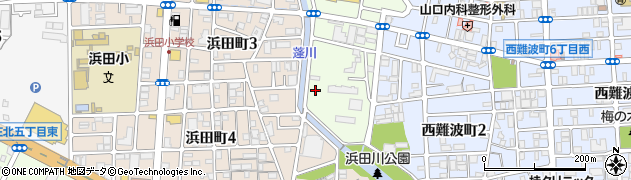 兵庫県尼崎市南七松町2丁目周辺の地図