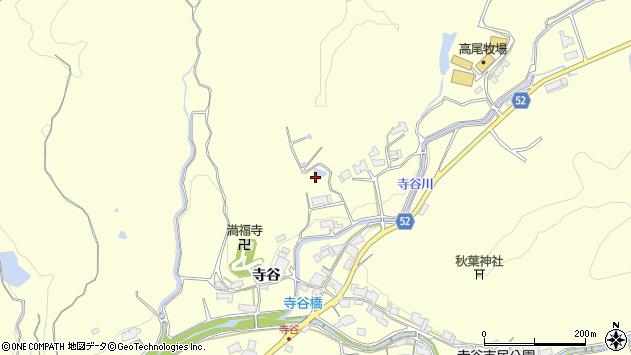 〒651-2231 兵庫県神戸市西区櫨谷町寺谷の地図