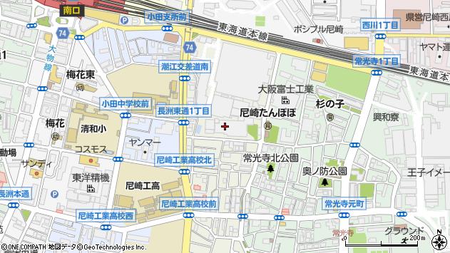 〒660-0801 兵庫県尼崎市長洲東通の地図