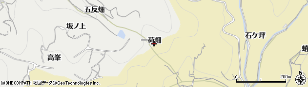 愛知県南知多町(知多郡)内海(一荷畑)周辺の地図