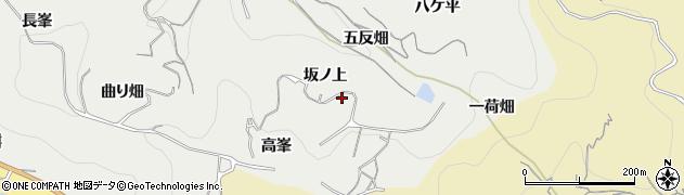 愛知県南知多町(知多郡)内海(坂ノ上)周辺の地図
