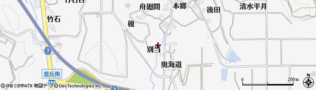 愛知県南知多町(知多郡)豊丘(別当)周辺の地図
