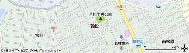 愛知県豊橋市曙町(若松)周辺の地図
