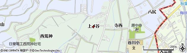 愛知県豊橋市中原町(上ノ谷)周辺の地図