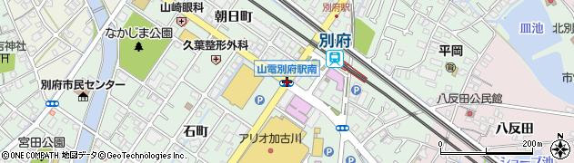 山陽別府駅南周辺の地図