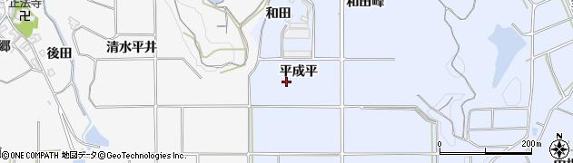 愛知県南知多町(知多郡)大井(平成平)周辺の地図