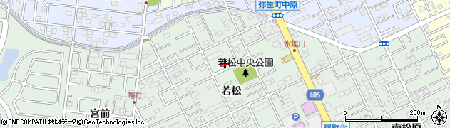 愛知県豊橋市曙町周辺の地図