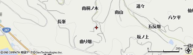 愛知県南知多町(知多郡)内海(南桐ノ木)周辺の地図