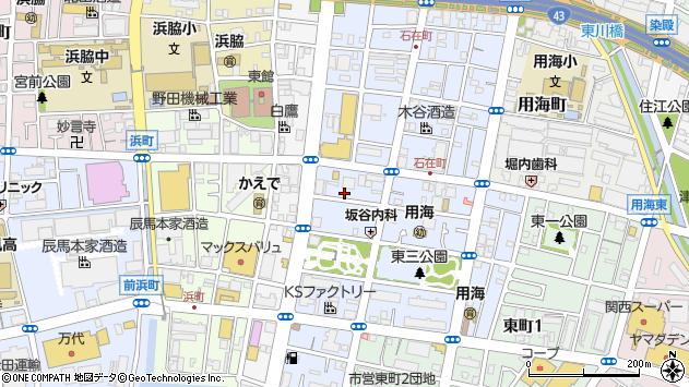 〒662-0927 兵庫県西宮市久保町の地図