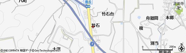 愛知県南知多町(知多郡)豊丘(竹石)周辺の地図