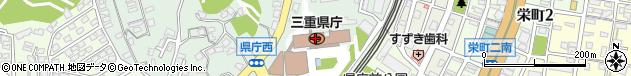 三重県周辺の地図