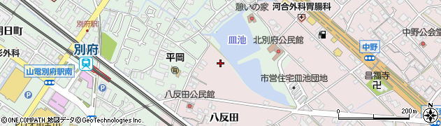兵庫県加古川市平岡町(八反田)周辺の地図