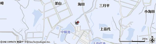 愛知県南知多町(知多郡)大井(旭)周辺の地図