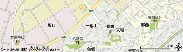 愛知県豊橋市一色町(一色上)周辺の地図