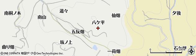愛知県南知多町(知多郡)内海(八ケ平)周辺の地図