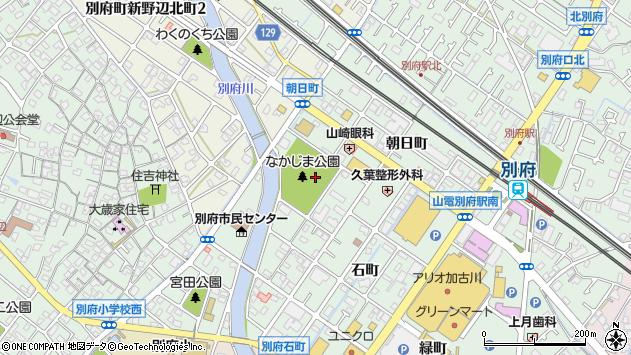 〒675-0128 兵庫県加古川市別府町中島町の地図