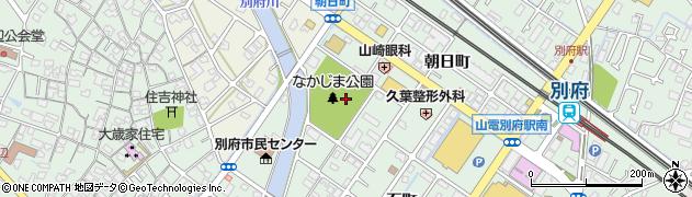 兵庫県加古川市別府町(中島町)周辺の地図
