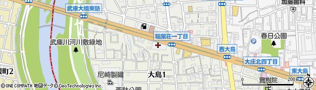エスパス武庫川周辺の地図