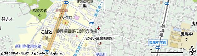 まごころ弁当 浜松中区店周辺の地図