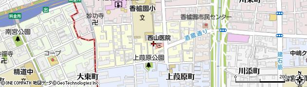 兵庫県西宮市堀切町周辺の地図