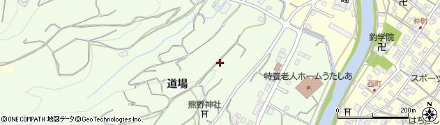 静岡県牧之原市道場周辺の地図