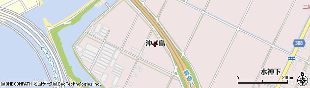 愛知県豊橋市神野新田町(沖ノ島)周辺の地図