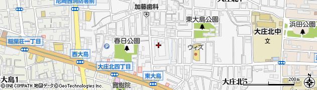 武庫川東グランドハイツ周辺の地図