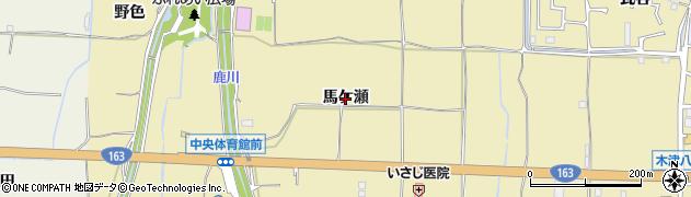 京都府木津川市木津(馬ケ瀬)周辺の地図