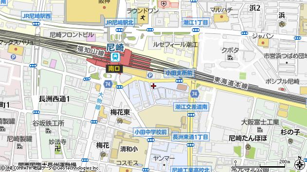 〒660-0802 兵庫県尼崎市長洲中通の地図