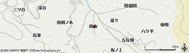 愛知県南知多町(知多郡)内海(倉木子)周辺の地図