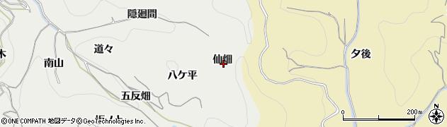 愛知県南知多町(知多郡)内海(仙畑)周辺の地図
