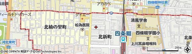 府営大東北新町住宅周辺の地図