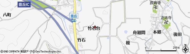 愛知県南知多町(知多郡)豊丘(竹石台)周辺の地図