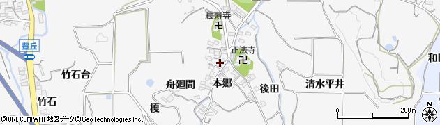 愛知県南知多町(知多郡)豊丘(本郷)周辺の地図