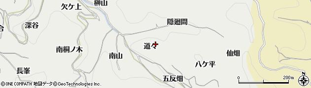 愛知県南知多町(知多郡)内海(道々)周辺の地図