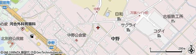 兵庫県加古川市平岡町(中野)周辺の地図