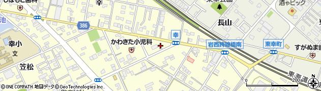 桃山ラーメン 曙店周辺の地図