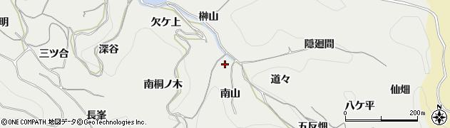 愛知県南知多町(知多郡)内海(南山)周辺の地図