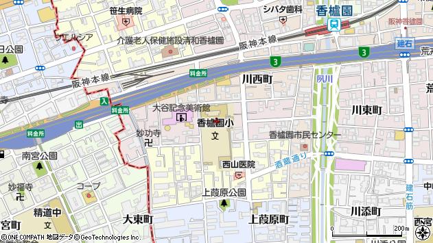 〒662-0952 兵庫県西宮市中浜町の地図