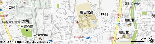 静岡県磐田市美登里町周辺の地図