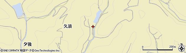 愛知県南知多町(知多郡)山海(久須)周辺の地図