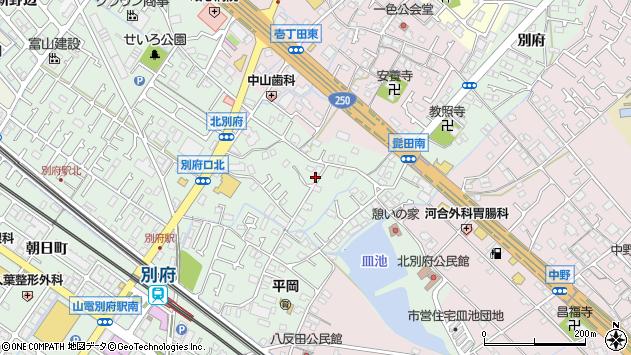 〒675-0122 兵庫県加古川市別府町別府の地図